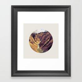 YellowStone Framed Art Print