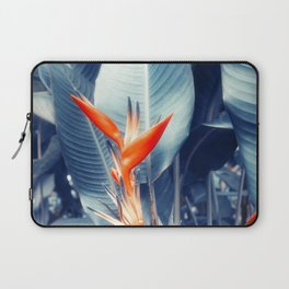 Tropical Parakeet Flower Laptop Sleeve