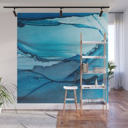 Abundance Fluid ink abstract watercolor Wall Mural