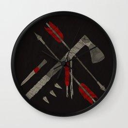 """""""Go West"""" #2 Wall Clock"""