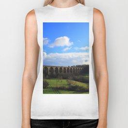 Cefn Railway Viaduct North Wales Biker Tank