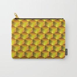 Golden cubes Carry-All Pouch