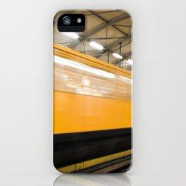 Berlin Subway iPhone Case