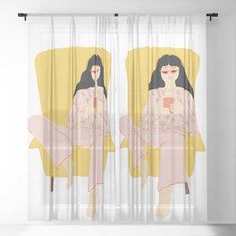 Pyjama Sunday Sheer Curtain