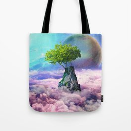 spectator of worlds Tote Bag