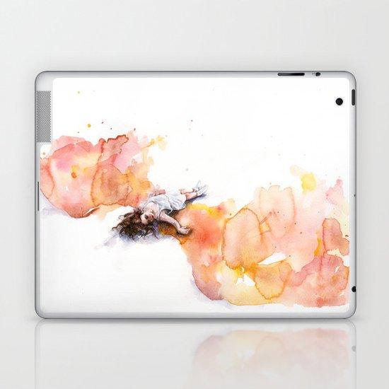 take off in flight Laptop & iPad Skin
