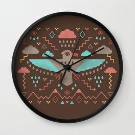 The Legend of Thunderbird Wall Clock