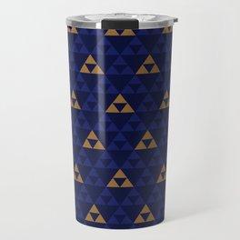The Golden Power (Blue) Travel Mug