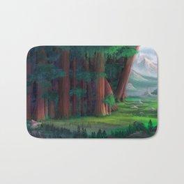The Ancient Forest Bath Mat