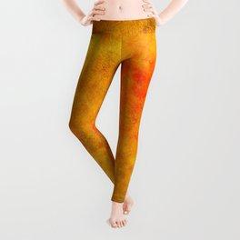 orange madness /Agat/ Leggings