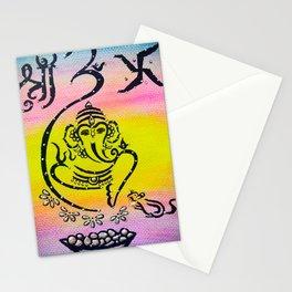 Ganesha painting Stationery Cards