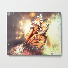 Life of a Butterfly Metal Print
