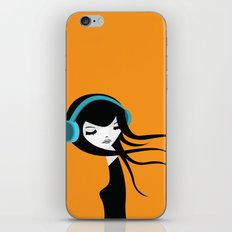 Flow In The Music iPhone & iPod Skin