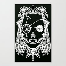 Odin (Reversed) Canvas Print