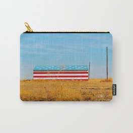 America flag house Carry-All Pouch