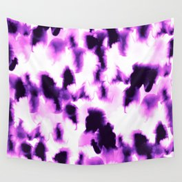 Kindred Spirits Purple Wall Tapestry