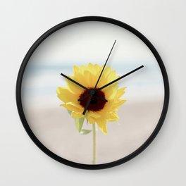 Daylight flower Wall Clock