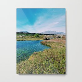 Iceland's Tectonic Trench Metal Print