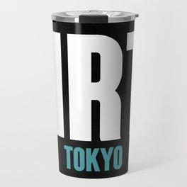 NRT Tokyo Luggage Tag 2 Travel Mug