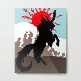 Shadow of the Kirin  Metal Print