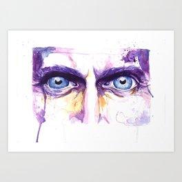Eyes of nine Art Print