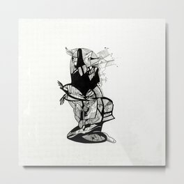 Silly Rabbit Metal Print