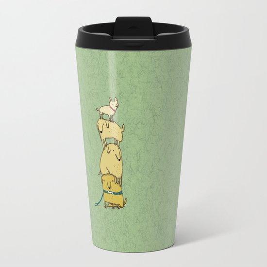Puppy Totem Travel Mug