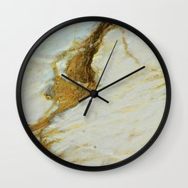 Polished Marble Stone Mineral Texture 5 Wall Clock