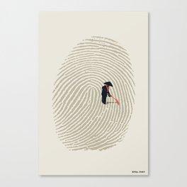 Zen Touch Canvas Print