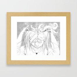Minervan Birth Framed Art Print