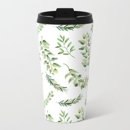 Forest in the Fall Metal Travel Mug