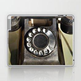Retro rotary dial telephone Laptop & iPad Skin