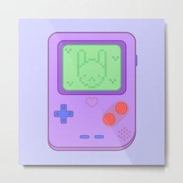 Cute console Metal Print