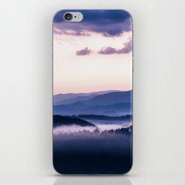 Ultra Violet Lights iPhone Skin