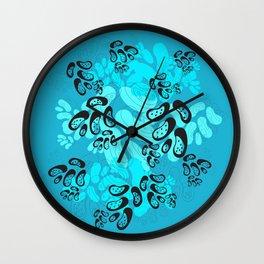 Moche Beans Wall Clock