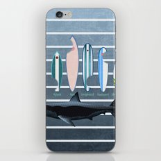 Shark Week - A balanced diet is essential  iPhone & iPod Skin
