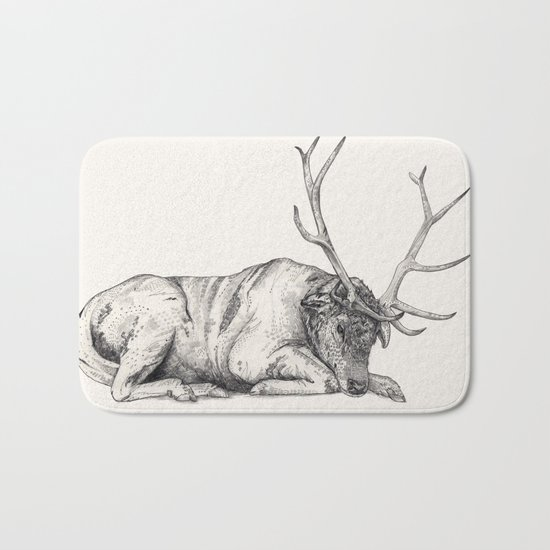 Stag // Graphite Bath Mat
