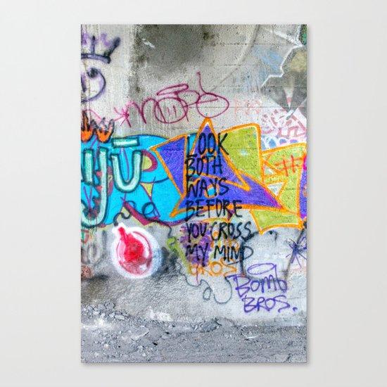 Look Both Ways Canvas Print