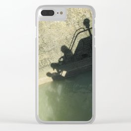 Falling into the Water #moods #buyartprints #society6 Clear iPhone Case