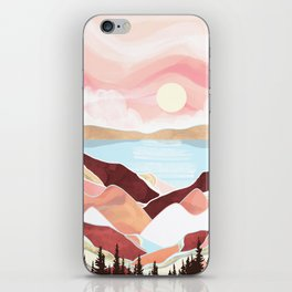 Autumn Lake Sunrise iPhone Skin