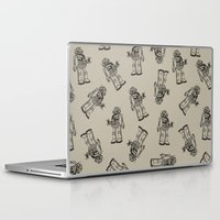 robot Laptop & iPad Skins featuring Robot. by Scott Mckenzie-Lee
