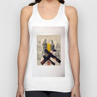 sisters Tank Tops featuring Sisters by Mimi Rico