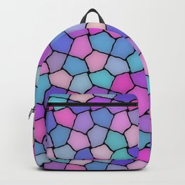 Multicolor Pattern Backpack