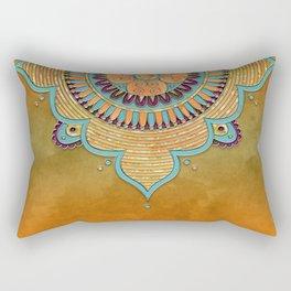 Mandala Ornament Rectangular Pillow