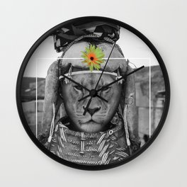 Tribal Queen Wall Clock