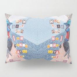 Mrs Cassowary Pillow Sham