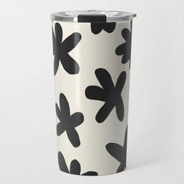 Flower Power Print Travel Mug