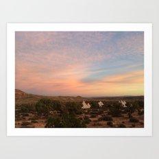 Utah Sunrise Art Print