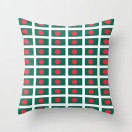 flag of bengladesh-bengladesh,Bengali, bengladeshi,bengalবাংলাদেশ, dhaka. Throw Pillow