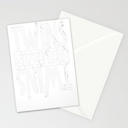 Twins-Since-1937---80th-Birthday-Gifts Stationery Cards